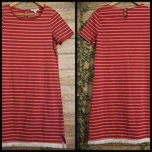 NWT beachlunchlounge Striped Dress Size XS